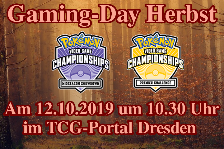 Banner Gaming-Day Herbst